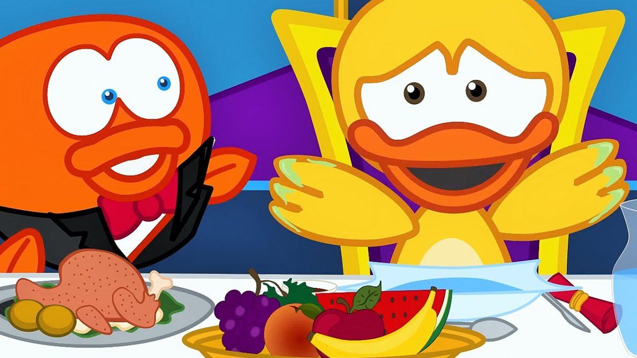 Yemek masasında – Çizgi Film Çocuk Şarkısı – Adisebaba Çocuk Şarkıları