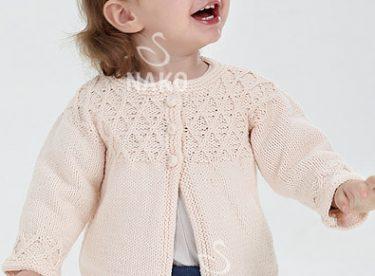 Bebek Hırkası Modeli ve Yapılışı (Erkek Bebek ve Çocuklar için)