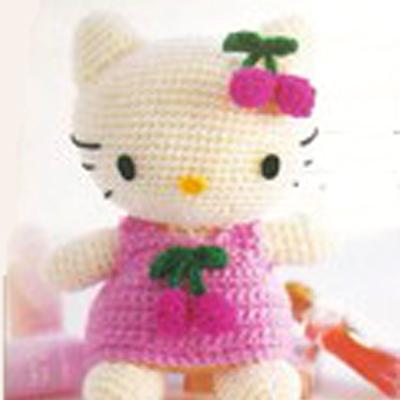 AMIGURUMI Hello Kitty Anahtarlık Yapımı( Amigrumi Hello Kitty ... | 400x400