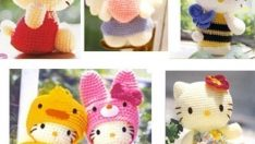 Hello Kitty Amigurumi (Örgü Oyuncak) Modelleri