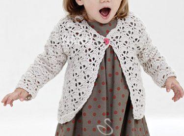 Bebek Hırkası Modeli ve Yapılışı (Kız Bebek ve Çocuklar için)