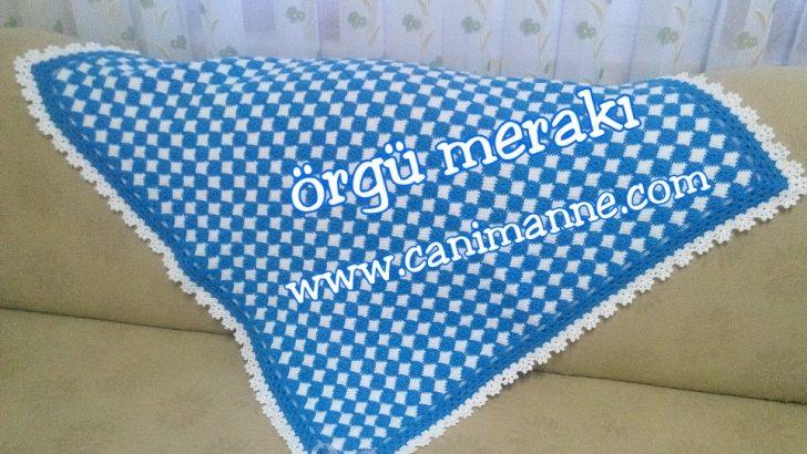 Kolay Bebek Battaniyesi Yapılışı