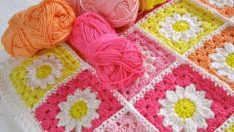 Tığ İşi Bebek Yeni Battaniye Modelleri