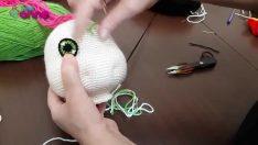 Bebek Göz Yapılışı Örgü Oyuncak Amigurumi