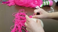 Çilek Kız Saç Ekimi Yapılışı Örgü Oyuncak Amigurumi