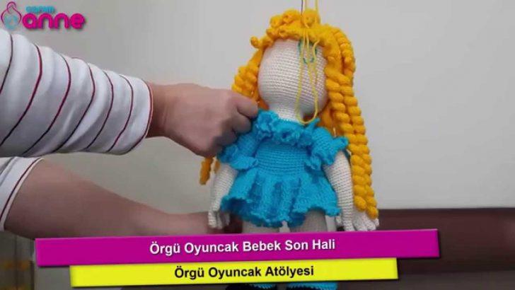 Örgü Oyuncak Bebek Son Hali