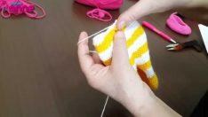 Şeker Kız Bacak Birleşimi ve Gövdeye GeçişÖrgü Oyuncak Amigurumi