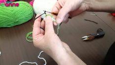 Şeker Kız Göz Yapılışı Örgü Oyuncak Amigurumi