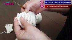 Şeker Kız Kafa Yapılışı Örgü Oyuncak Amigurumi