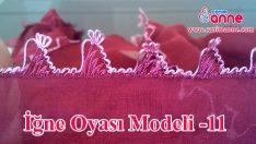 İğne Oyası Modeli Yapılışı 11