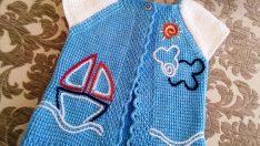 Erkek Bebek Yeleği Yapılışı – Tunus İşi