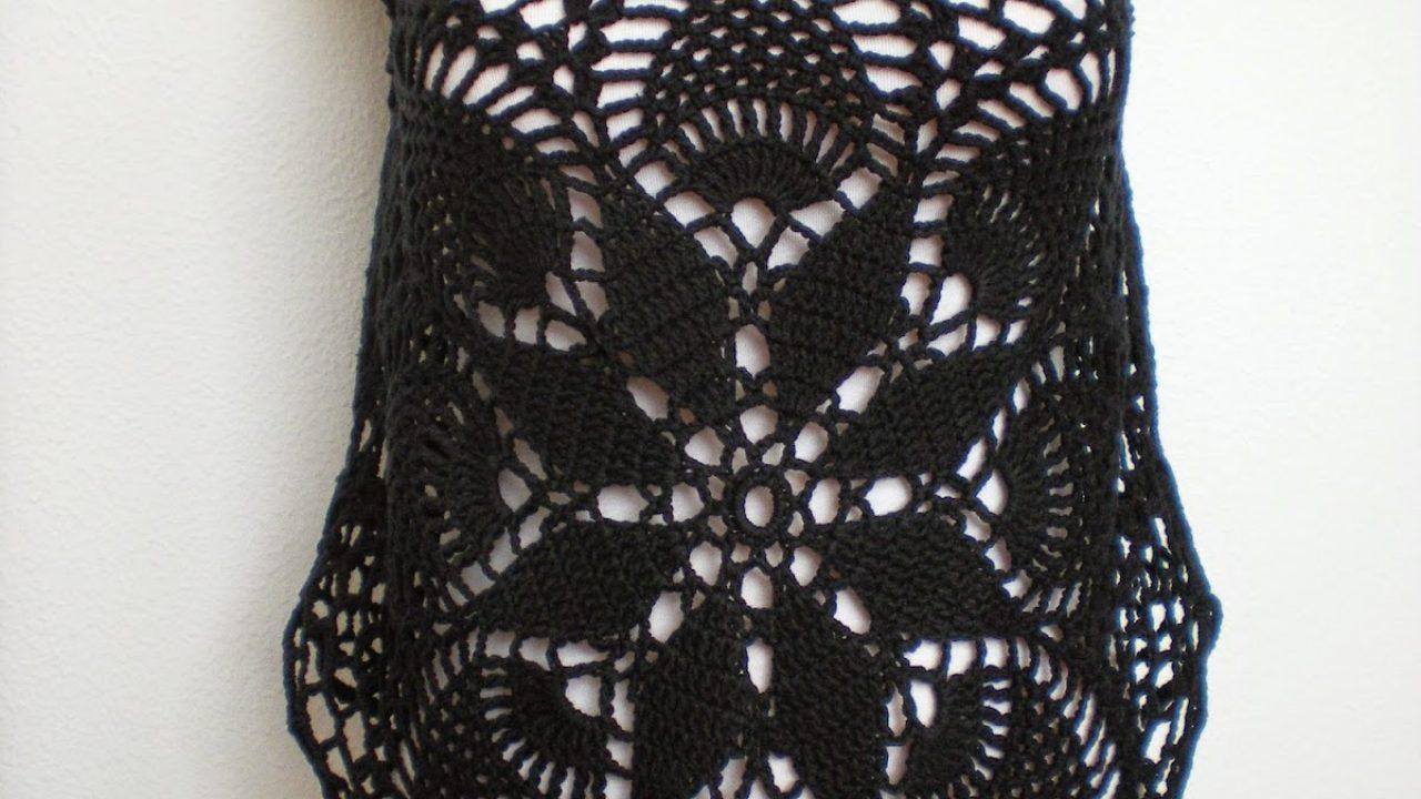 Tığ İşi Yazlık Elbise Yapımı
