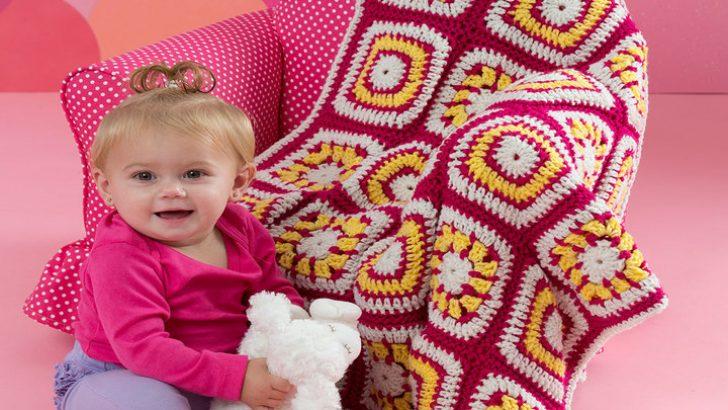 Tığ İşi bebek Battaniyesi Modeli ve Yapılışı Videolu (Açıklamalı)