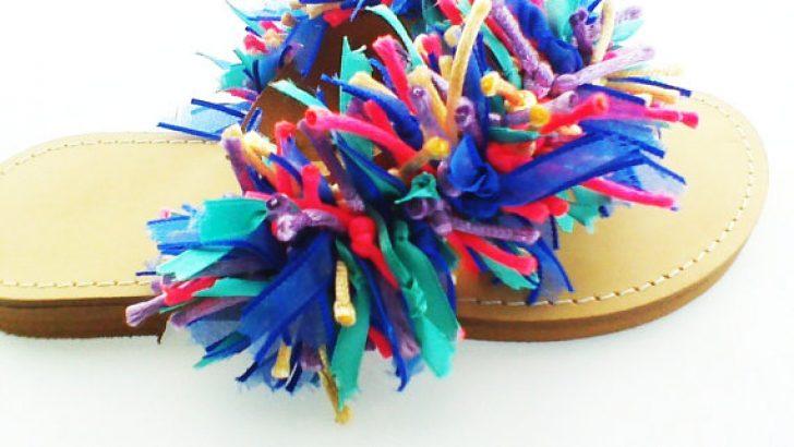 Terlik ve Sandalet Süsleme Modelleri