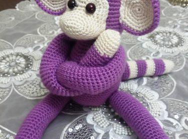 Örgü Oyuncak Maymun Yapılışı (Amigurumi)
