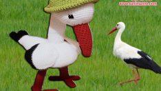 Amigurumi Leylek Yapılışı (Örgü Oyuncak)