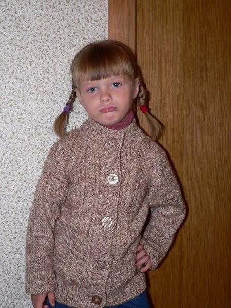 Örgü Çocuk Kazak Modelleri