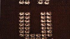 Şerit Boncuk ile Ü Harf Kesimi Yapımı