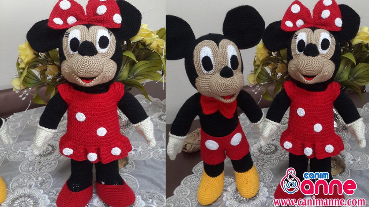 mickey mouse amigurumi – Bonek de Crochê | 720x1280