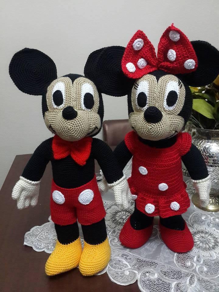 amigurumi mickey mouse pattern free