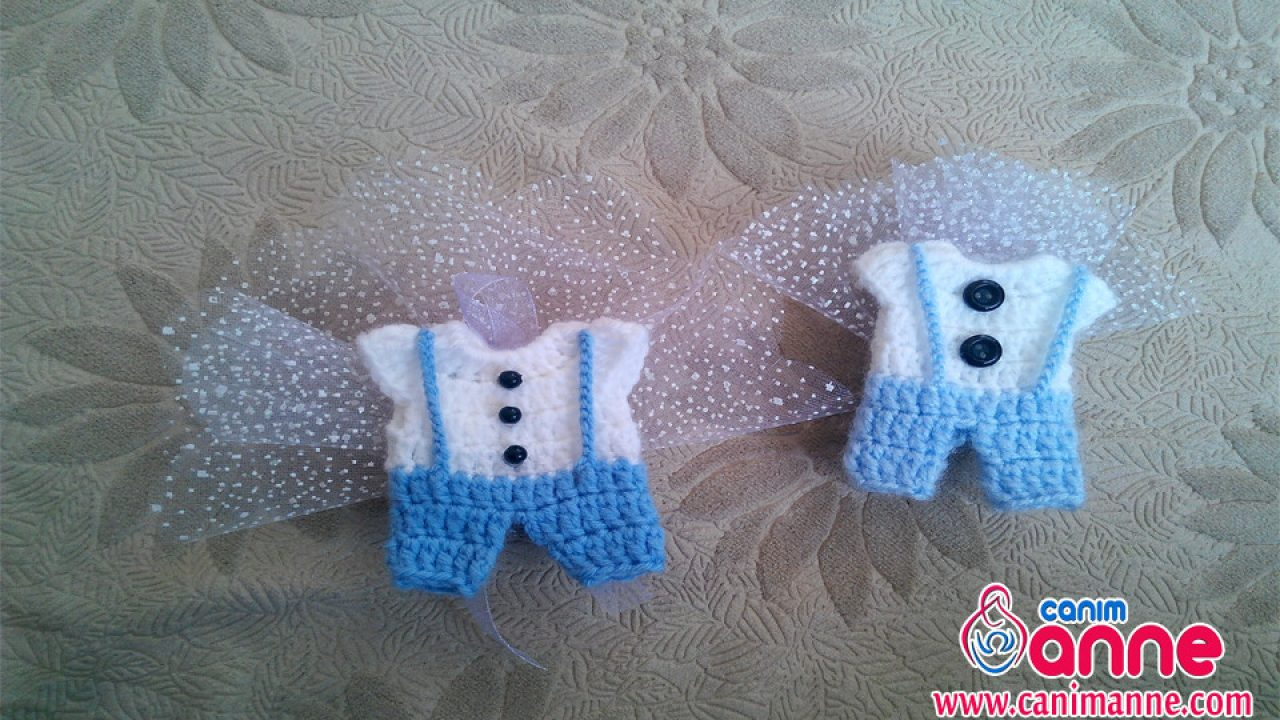Bebek Şekeri Yapımı Erkek Bebekler için