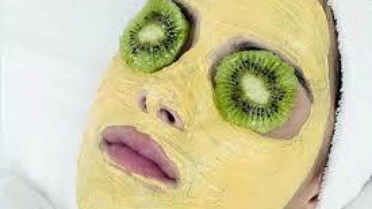Kivi maskesi ile cildinizi yenileyin