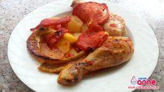 Fırında Tavuk Yemeği Tarifi