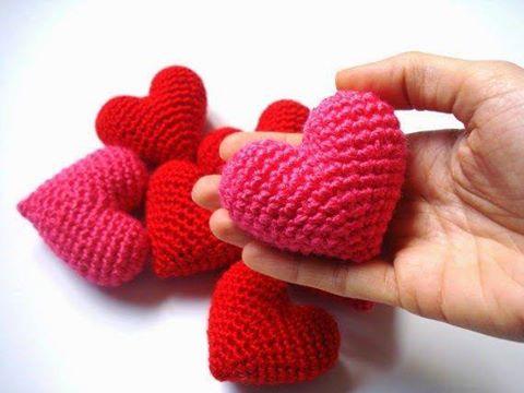 Amigurumi Yapılışı : Amigurumi kalp yapılışı canım anne