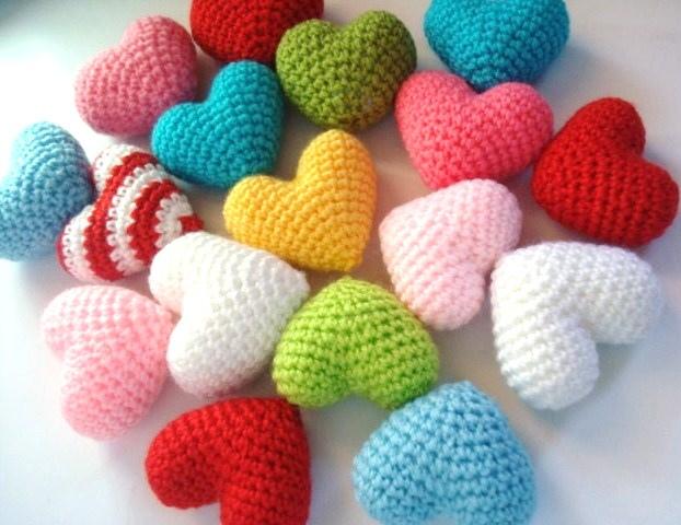 Amigurumi Anahtarlık Yapımı : Amigurumi kalp yapılışı canım anne
