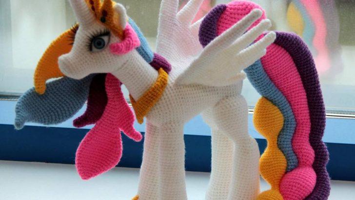 Pony Amigurumi (Çok Güzel)