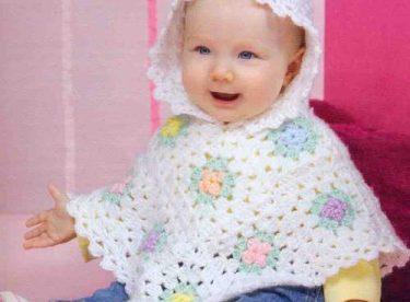 Bebek ve Çocuklar için yeni panço modelleri