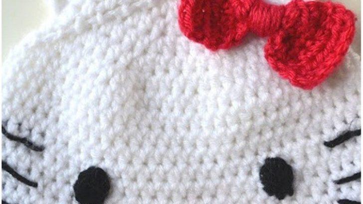 Hello Kitty Şapka Fiyonk Yapılışı