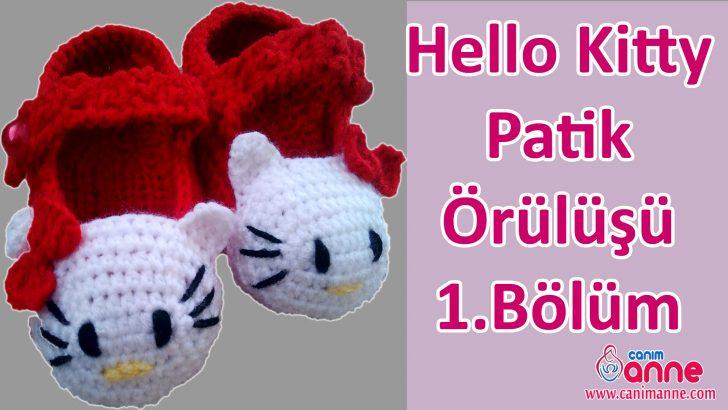 Hello Kitty Patik Örülüşü 1.Bölüm