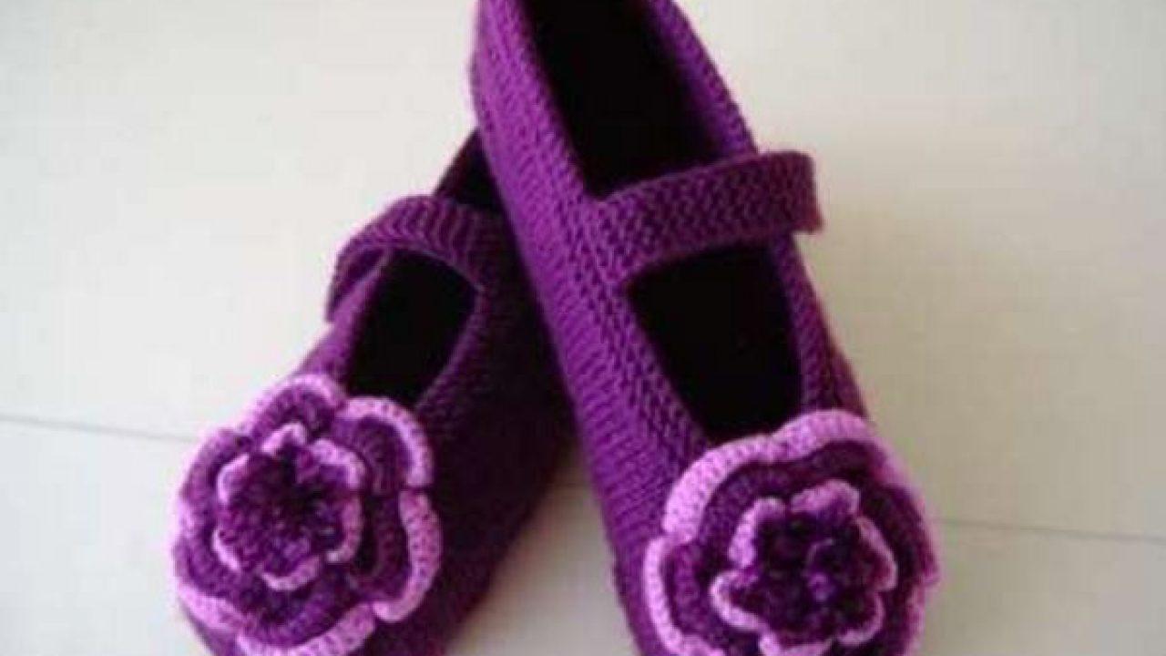 Renkli Patik Süslemesi Çiçek Yapılışı
