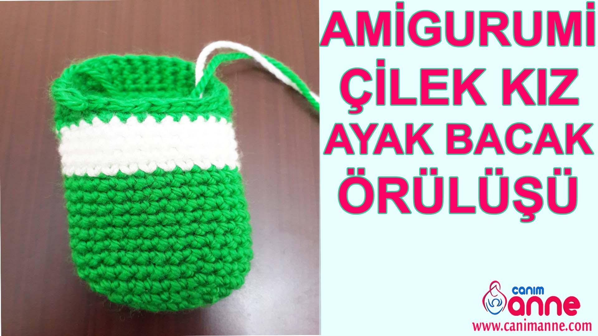 Çilek Kız Kafa Yapılışı Örgü Oyuncak Amigurumi - Canım Anne | 1080x1920