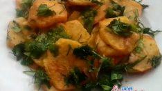 Otlu Sarmısaklı Patates Kızartması