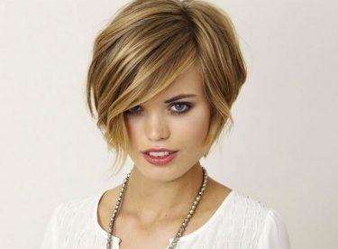 Kalın Telli Saçlar için Kısa Modeller