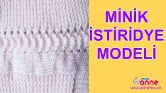 Örgü Minik İstiridye Modeli Yapımı