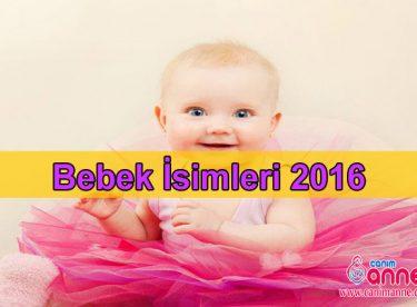 Bebek isimleri 2016