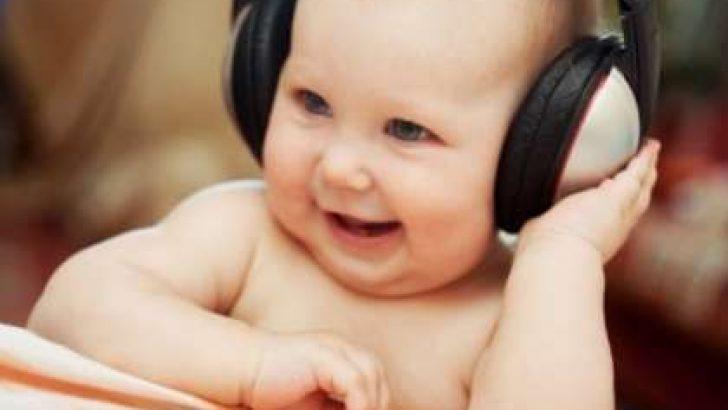 Bebeğinize Müzik Dinletin