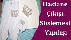 Hastane Çıkışı Bebek Takım Süslemesi Yapılışı
