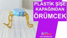 Plastik Şişe Kapağından Örümcek Yapımı – Kendin Yap – Geri Dönüşüm