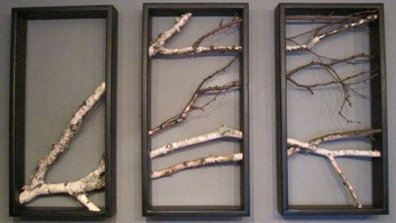 Ağaç Dallarını Salonunuzun Duvarına Taşıyın