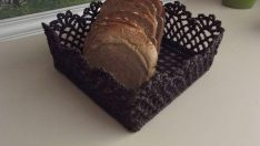 Tığ İşi Ekmek Sepeti Yapımı