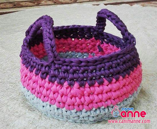 Amigurumi Hasır Bebek Şapkası ve Sepet Yapımı - Örgü Modelleri | 450x547
