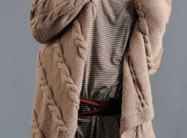 El Örgüsü Bayan Hırka Modelleri