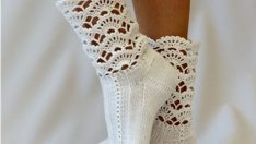 Tığ İle Çorap Modelleri