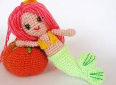 Amigurumi Oyuncak Deniz Kızı Yapılışı