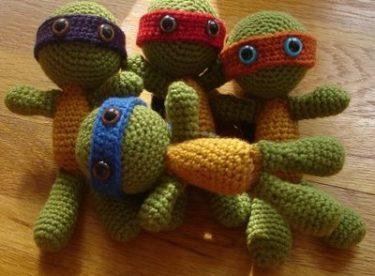 Örgüden Kaplumbağa Yapımı