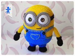 Amigurumi Örgü Oyuncak Modelleri – Amigurumi Minion Bebek Yapılışı ... | 189x252